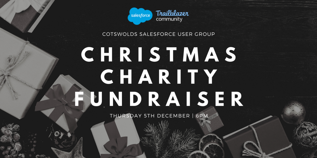 cotswold salesforce christmas charity fundraiser