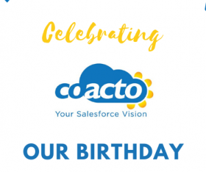 Coacto celebrates its fourth birthday!