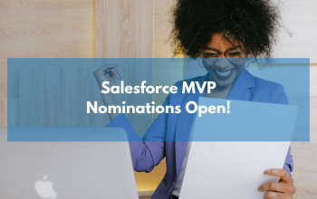 Nominations are open: Salesforce MVP 2021