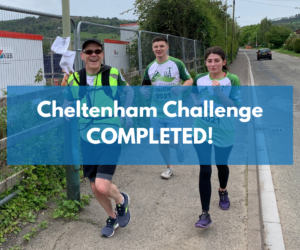 The Coacto Cloudies tackle the CCP Cheltenham Challenge