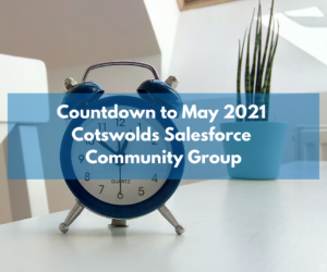 Don't miss our Salesforce Community Group this May!