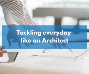Cotswolds Community Group: Tackle everyday like an Architect