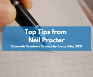 Top tips you need to know from Neil Procter – Cotswolds Community Group