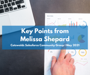 Key points from Melissa Shepard you NEED to know: Cotswolds Community Group