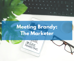 Meeting the new member of the Ohana: Brandy the Marketer
