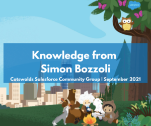 Knowledge you NEED from Simon Bozzoli – Cotswolds Community Group