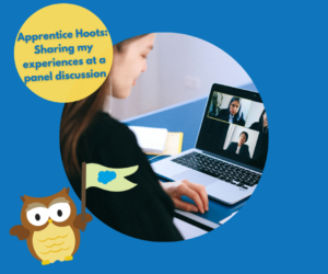 Apprentice Hoots: Sharing my experiences at a panel discussion