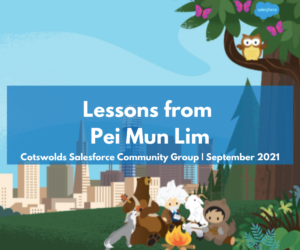 Must have lessons from Pei Mun Lim – Cotswolds Community Group